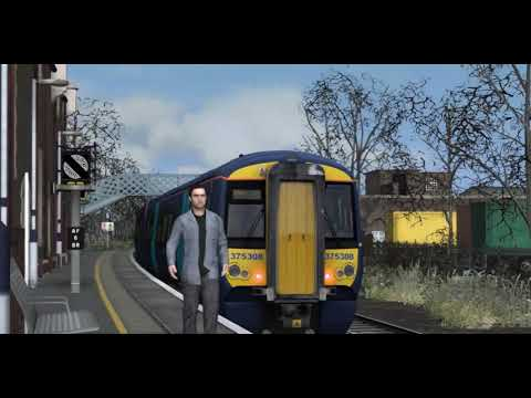 Train Simulator: Trainspotting at Aylesford on the Medway Valley  