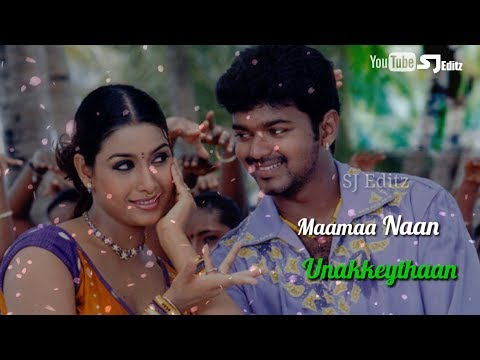 gundu gundukodi| Elantha Pazham Song |lyrics| vijay |  what's app status