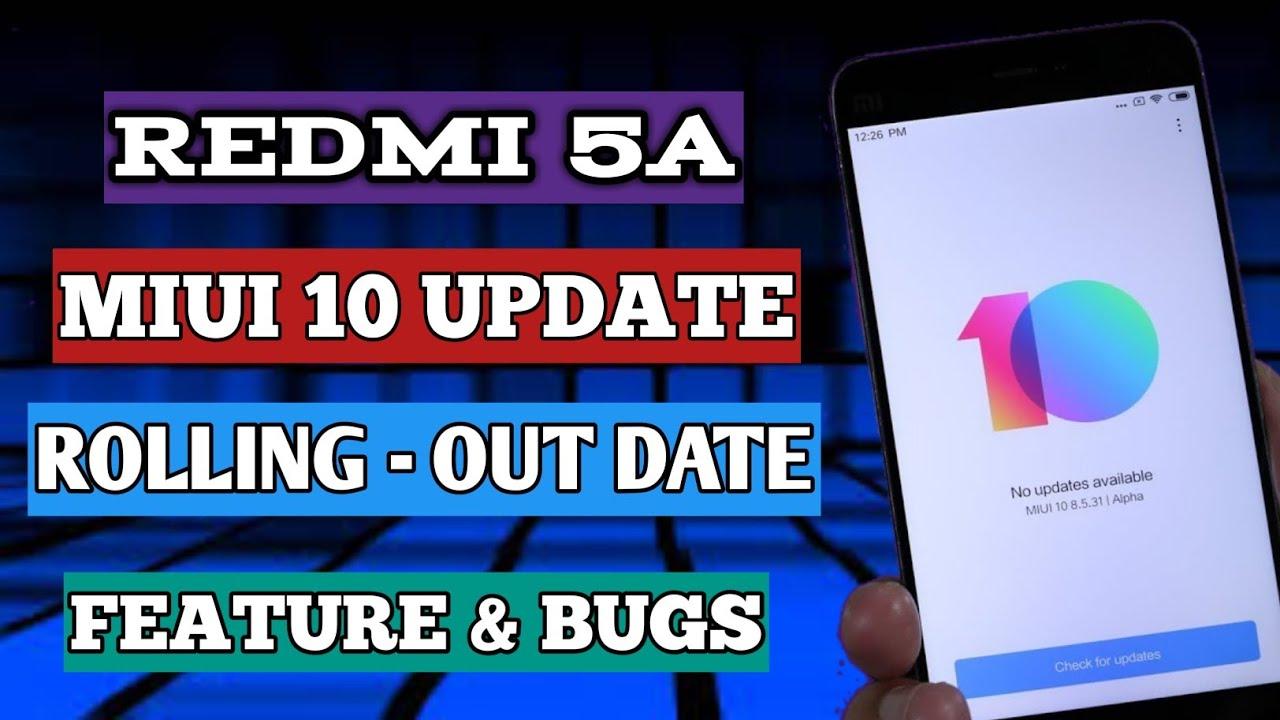MIUI 10 STABLE REDMI 5A | REDMI 5A MIUI 10 UPDATE