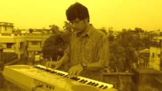 Akash Prodip Jole - Instrumental By Pramit Das Lata Mangeshkar Hit Song