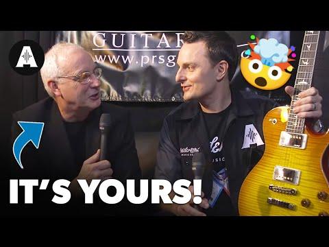 PRS Guitars Surprise Lee at NAMM 2017