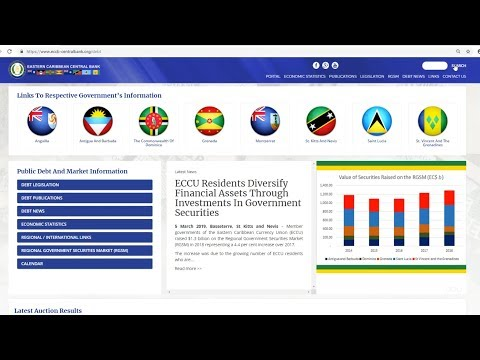 ECCB Connects Season 10 Episode  #14 - ECCU Public Debt and Market Information Web Portal