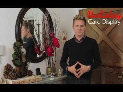 Fun-Affordable-Way-to-Display-Holiday-Cards
