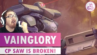 CP SAW IS SO BROKEN & FUN!! Vainglory Gameplay - [Rumbly's Lounge]
