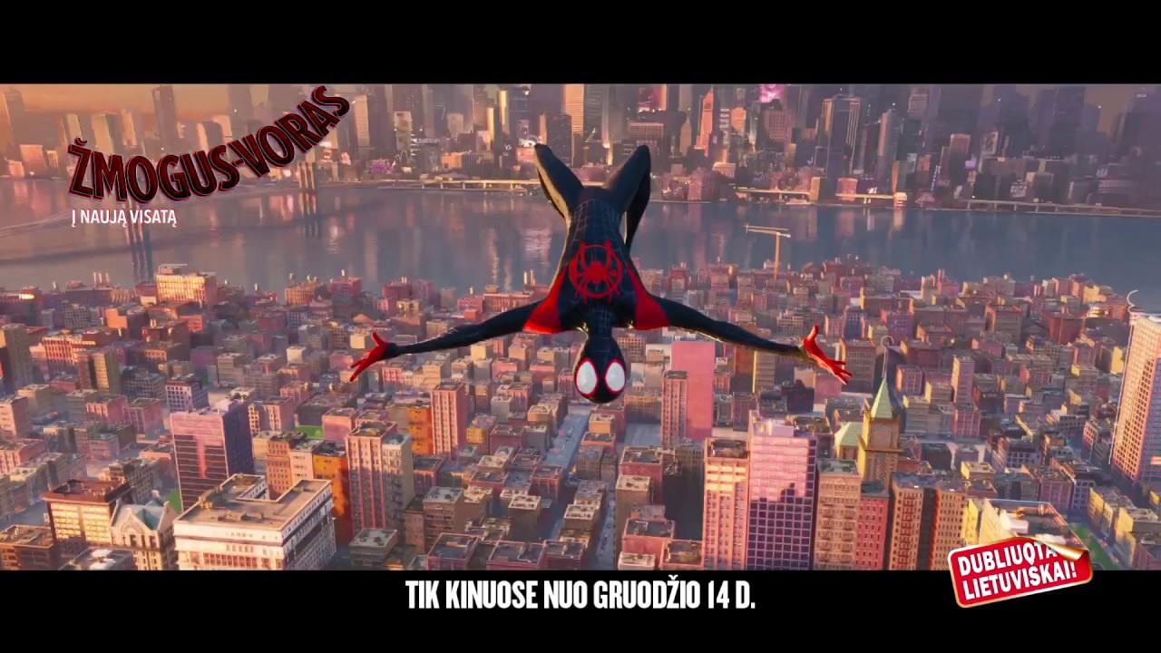 ŽMOGUS-VORAS™: Į NAUJĄ VISATĄ / Spider-Man™: Into The Spider-Verse - filmo anonsas