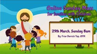 Gambar cover Catholic Sunday Mass Online (with Children) - 5th Sunday of Lent