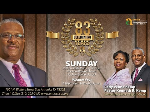 Antioch Missionary Baptist Church Afternoon Worship Service April 22, 2018