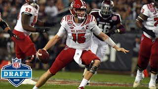 Ryan Finley NFL Draft Tape | NC State QB