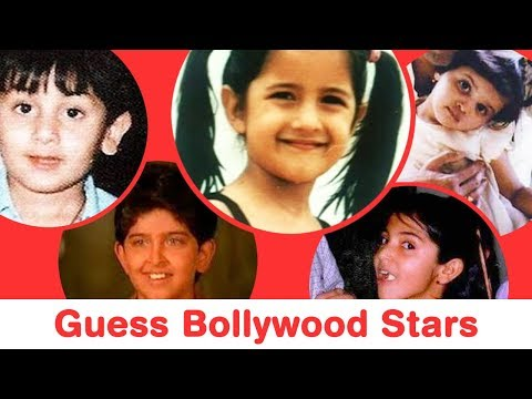 Guess 25 Bollywood Actors and Actresses from Their Childhood