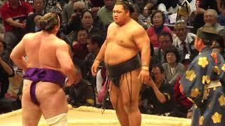 【珍事件?!】大相撲九州場所 栃ノ心VS松鳳山