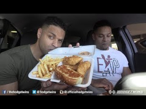 Eating Raising Cane's @hodgetwins