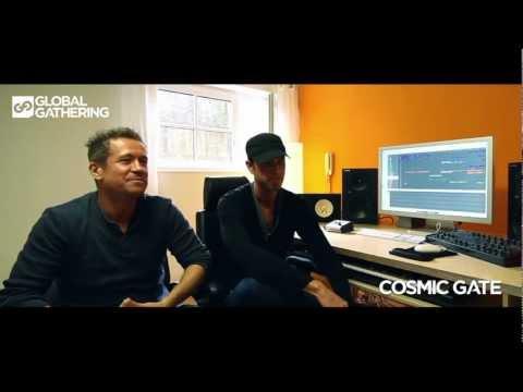 GlobalGathering UK 2012. Cosmic Gate interview