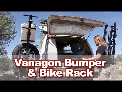Vanagon Bumper & Bike Rack - GoWesty Upgrade - YouTube