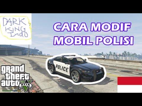 cara memodif mobil polisi di GTA 5 offline
