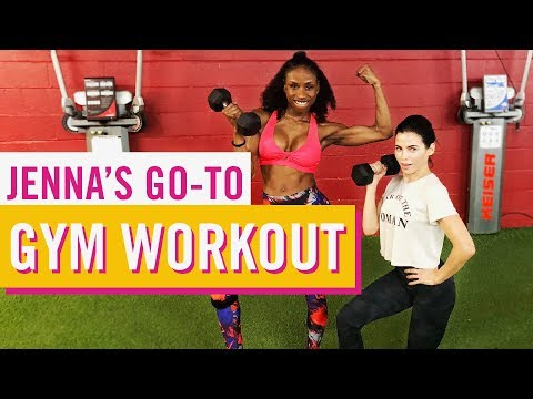 Jenna's Go-To Gym Workout | Late Night Edition | Jenna Dewan