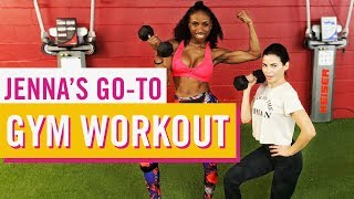 Jenna's Go-To Gym Workout   Late Night Edition   Jenna Dewan