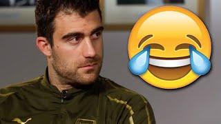 😂CHALLENGE | Can Denis Suarez make Sokratis Papastathopoulos laugh?