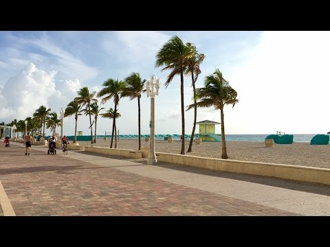 HOLLYWOOD BEACH BOARDWALK FLORIDA
