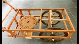 Leonardo da Vinci Inventions. Odometer (to measure the distance traveled ) thumbnail
