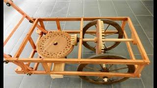 Leonardo da Vinci Inventions. Odometer (to measure the distance traveled )