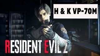 Табельний пістолет Леона ''H&K VP-70M'' (Resident Evil 2 2019)