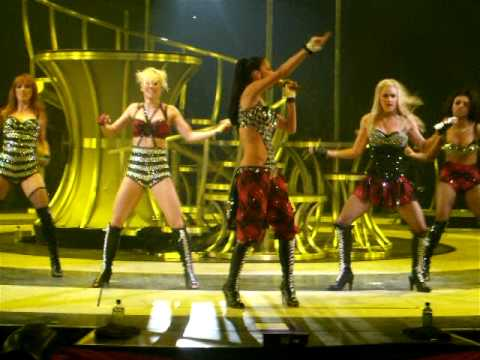Jai Ho  The Pussycat Dolls  The Circus Starring: Britney Spears Tour 130309