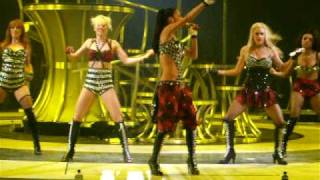 Jai Ho - The Pussycat Dolls  The Circus Starring: Britney Spears Tour (13-03-09)