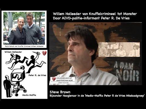 Willem Holleeder van Knuffel-Crimineel tot Monster.
