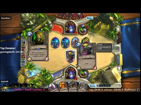 LiveStream - Hearthstone | Playing challengers from the chatroom Part 1 of 2