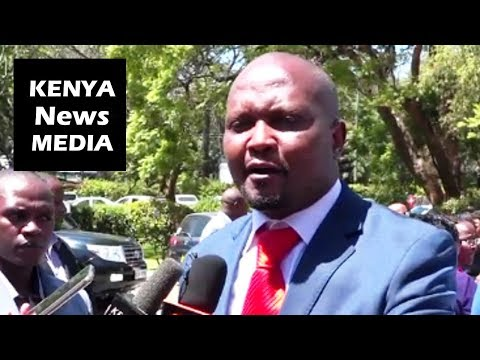Moses Kuria speaks AFTER Remarks that Uhuru has Abandoned Central in Development!!!