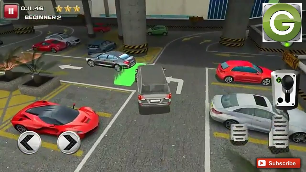 Multi Level Car Parking Game 2 - Android Gameplay HD - YouTube