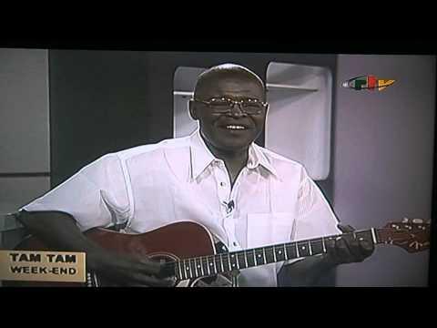 Le Chanteur et poète Ottou Marcelin sur la CRTV -Cameroun