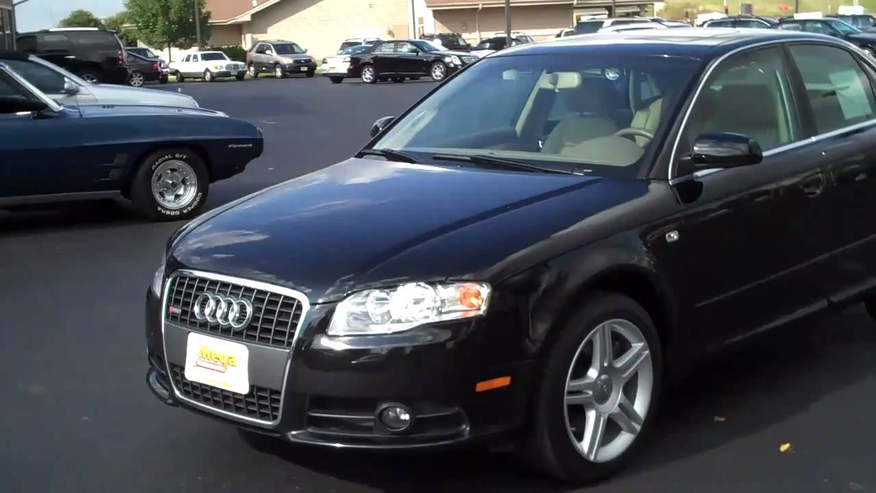 2008 audi a4 2 0t quattro s line youtube. Black Bedroom Furniture Sets. Home Design Ideas