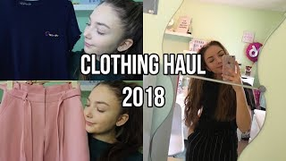 CLOTHING HAUL- H&M, PRETTY LITTLE THING & MORE!| Floral Sophia
