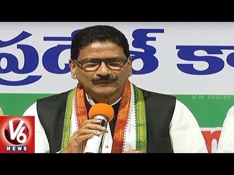 T Congress Leader Marri Shashidhar Reddy Slams EC Over ...