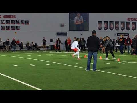 Ohio State Pro Day 2018: Denzel Ward, Damon Webb in DB drills