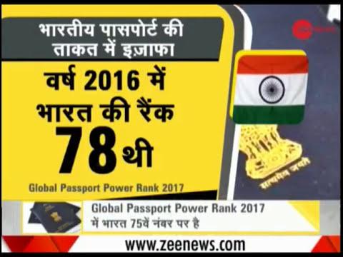 Global Passport Power Rank 2017 - किस देश कि पासपोर्ट कि पॉवर/ताकद कितनी है ??