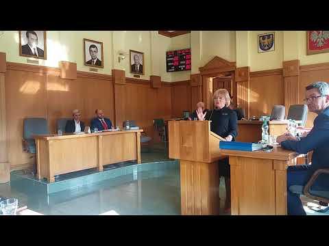 Sesja Rady Miasta: spór z Danutą Pietraszewską o deputaty węglowe