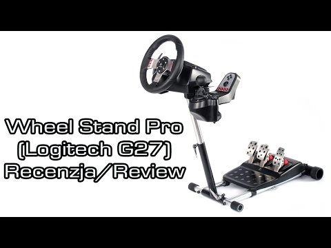 Wheel Stand Pro Set Up w/ Logitech G25 G27 Driving Forc
