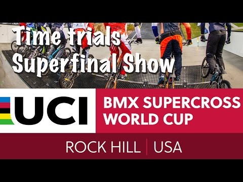 2016: Rock Hill, South Carolina Live - Time Trials Superfinal