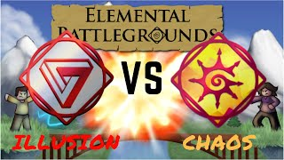 Elemental Battlegrounds: Illusion vs Chaos - Testing new element
