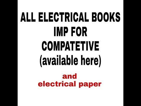 Best book for electrical electrical capsule