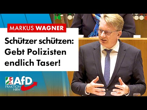 Gebt Polizisten endlich Taser! – Markus Wagner (AfD)