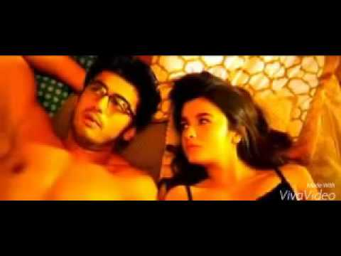 Alia bhat arjoon kapoor all kissing scene in 2 sta