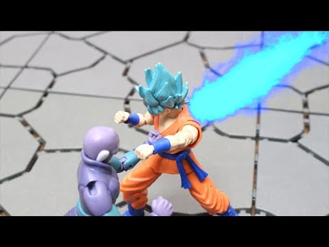 DRAGON BALL STOP MOTION HIT VS SON GOKU SSGSS KAIOKEN DRAGON STARS  FIGURE
