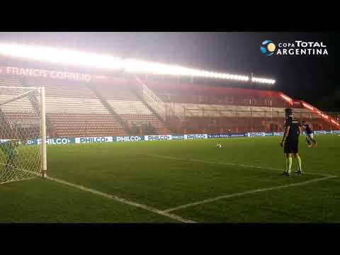 Los penales de Huracán 0 (1) - Vélez 0 (3)