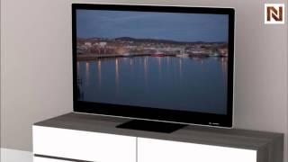 Nexera Allure - Entertainment & Home Office 60'' Tv Stand - 2 Flip Doors, 2 Drawers 221133