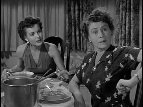Thelma Ritter Serves Dinner and Breakfast