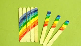 How To Make A Fun Kid Popsicle Stick Puzzle - Diy Crafts Tutorial - Guidecentral
