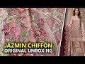 Jazmin Chiffon Collection 2019 | Unboxing Shahnameh Cyra D4 Sara Clothes | Hina Altaf